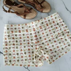 J. Crew Turtle Shorts